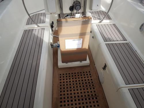 Permateek decking on a Westerly Sailing boat
