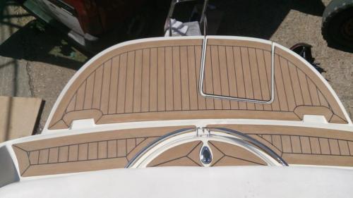 decking on bathing platform