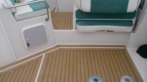 decking on cockpit area