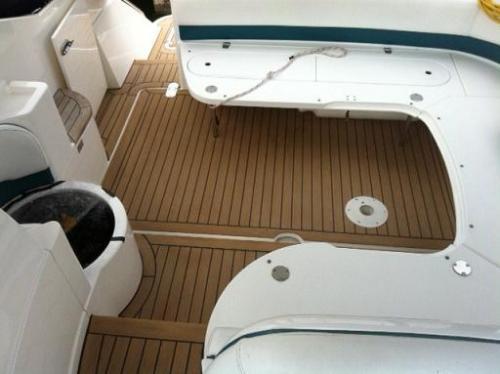 Cockpit area decking