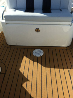Permateek Synthetic Decking on a Rib